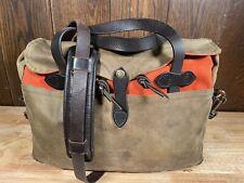 Filson Tin Cloth and Rugged Twill Original Briefcase - 70153 - Rare!