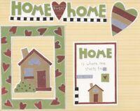 "/""COUSINS/"" SEASONS SCRAPBOOK DIE CUT SET MY MIND/'S EYE FAMILY LOVE HOME"