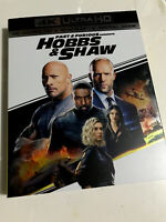 Hobbs & Shaw (4K Ultra HD , Blu-ray , No Digital) W/ Slipcover
