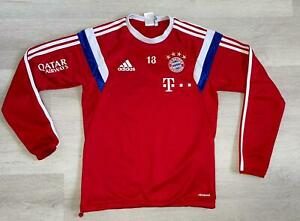 FC Bayern München Adidas Trainingstop Trainingsanzug Trikot Matchworn Gr.S