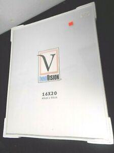 """InnoVision 16"""" x 20"""" White Frame"""
