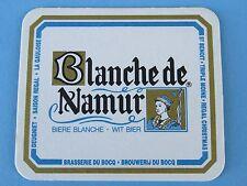 BEER COASTER ~*~ Brasserie du Bocq Blanche de Namur Wit ~ Purnode-Yvoir, Belgium