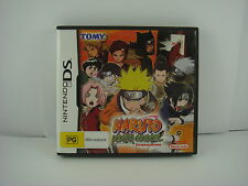 Naruto Ninja Council - Nintendo DS Game