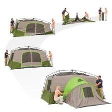 Instant Tent 11-Person Cabin with Private Room Rainfly Camping Family Shelter