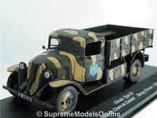 CITROEN TYPE 23 1940 ARMY TRUCK MODEL FRANCE 1/43RD SIZE ALTAYA TYPE Y0675J^*^