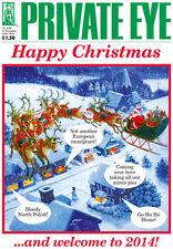 PRIVATE EYE 1356 - 21 Dec 2013 - 9 Jan 2014 - Happy Christmas