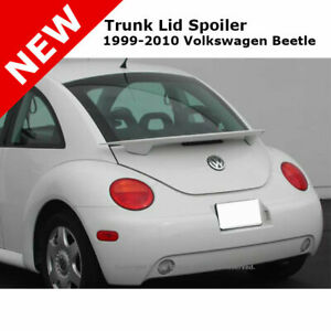 Volkswagen Beetle 98-11 Trunk Rear Spoiler Color Matched Painted SALSA RED LA3H