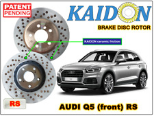 "AUDI Q5 disc rotor KAIDON (front) type ""RS"" spec"
