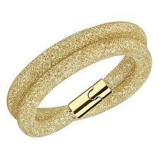 Swarovski Stardust Deluxe Bracelet Golden (40 cm; med) Brand New In Box #5159277