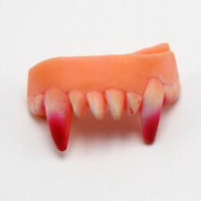 Falsche Zähne Zahnprothese Party Fasching Karneval Gebiss Halloween R4ED