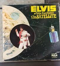 ELVIS Aloha From Hawaii via Satellite Album Vinyl 2 Record Set