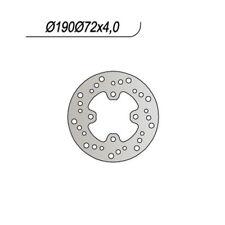 MS-8ED67A38A2 DISCO FRENO POST. NG 601 98/03 X8RS/X8RX 50 HONDA 190/94/72/4//4/1