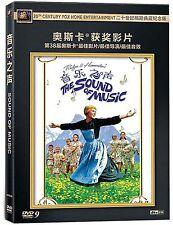 The Sound of Music All Region DVD Julie Andrews, Christopher Plummer  NEW UK R2