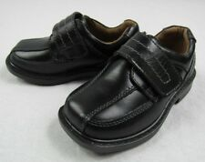Hush Puppies Oberlin Loafers Child's SIZE 7 Boy's Dress Shoes -Black NEW in Box