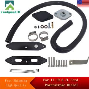 EGR Valve Cooler Kit w/coolant Fit For Ford Powerstroke Diesel 2011-2019 6.7L