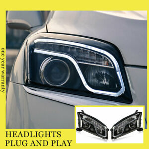 For Chevrolet Trax Headlights Double Xenon Beam HID Projector LED DRL 2015-2016