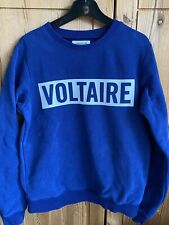 Zadig & Voltaire Sweat Bleu Taille 12 Ans
