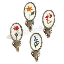 Gancho Nordal 'flores en' 4er-set