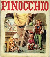 PINOCCHIO. COLLODI. COLL FEERIES. ED RENE TOURET. 1954 ILL. C JACONO