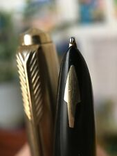 Vintage Restored Parker 61 MKIII Insignia Rolled Gold Fountain Pen
