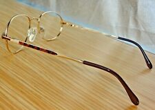 N.Mint SILHOUETTE M7364 V 6050 Oval Gold Frames ONLY f/Eyeglasses, 51mm lens+Cs.