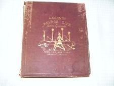 Legends Of Savage Life 1867 Original By James Greenwood-Ernest Griset Illustrat
