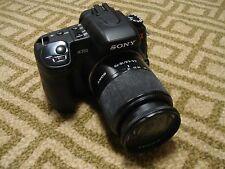 Very Nice Sony α (alpha) A350 14 MP Digital SLR DSLR Camera + 18-70mm Lens