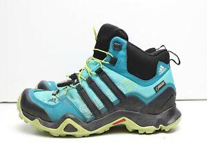 Adidas Germany Originals 3 Stripes Gor-Tex Hiking Camping All Terrain Aqua 6