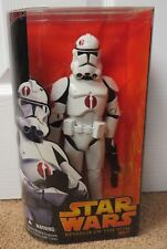 """STAR WARS REVENGE OF THE SITH - CLONE TROOPER 12"""" ACTION FIGURE SEALED"""