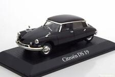 CITROEN DS 19 1962 GENERAL CHARLES DE GAULLE BLACK EDITIONS ATLAS 1/43 SCHWARZ