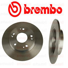 NEW Honda Civic EX 06-09 1.8L Set of 2 Rear Disc Brake Rotors Brembo 08A14710