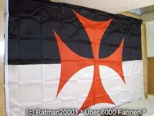 Fahnen Flagge Kreuzritter-Nr.2 Templer Orden - 150 x 250 cm