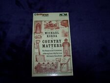 Country Matters by Michael Korda Book on Tape - 4 cassettes