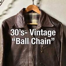 30S- Vintage Sports Jacket Riders Us Used Clothes