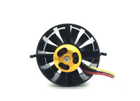70mm 12 Blades EDF Unit With 1800KV Brushless Motor for rc Jet AirPlane