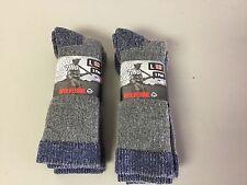 NWT Men's Wolverine Premium Merino Wool Hunting Socks 4 Pair Large Multi #209P
