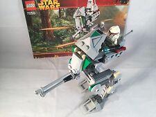 LEGO STAR WARS • 7250 Clone Scout Walker EPISODE III • 100% Complete wth Figure
