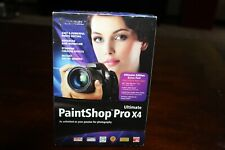 Corel Paintshop Pro X4 - Photography Software Editing Photos - See Description
