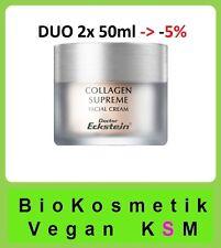Duo Collagen Supreme 100 ml Dr Eckstein BioKosmetik beugt Haut Fältchen vor