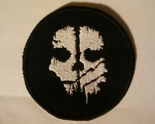 Patch Call of Duty ghost patch tonda colori personalizzati velcr. incluso