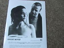 KNIGHT MOVES  feat Christopher LAMBERT Original Promotional Film / Cinema  PHOTO