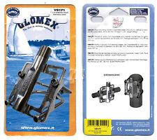 GLOMEX v 9171 antennes support acier inoxydable pour mât tuyaux diamètre 30 - 80 MM