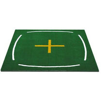 GOLF TRAINING MAT - Commercial size 150x150 - Golf Mat with training lines