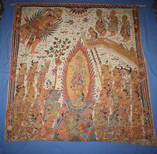 "Balinese Art Kamasan Painting 47x50"" 119x127cm"