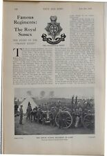 More details for 1915 ww1 article & pics royal sussex regiment in camp football team tug of war