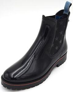 TRUSSARDI JEANS WOMAN RAIN BOOTS WELLINGTON BOOTS WINTER CASUAL CODE 79A00285