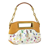 LOUIS VUITTON JUDY PM 2WAY HAND BAG MONOGRAM MULTI-COLOR M40257 TH1079 R11727