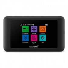Unlocked HUAWEI 4G LTE 612Mbps Pocket WiFi Mobile Hotspot Router SoftBank 603HW