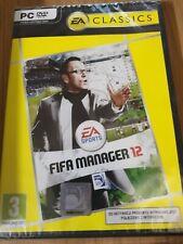 Fifa Manager 12 PC DVD Rom. BRAND NEW AND SEALED ENGLISH & POLISH LANGUAGE. RARE