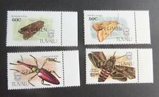 Tuvalu 1991 Insects Beetle Moth OP SPECIMEN SG601/4 MNH UM unmounted mint